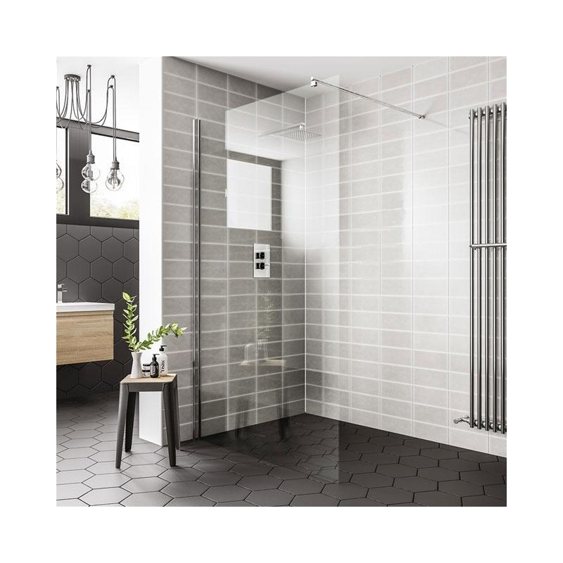 Essential Spring 760mm Wetroom Panel