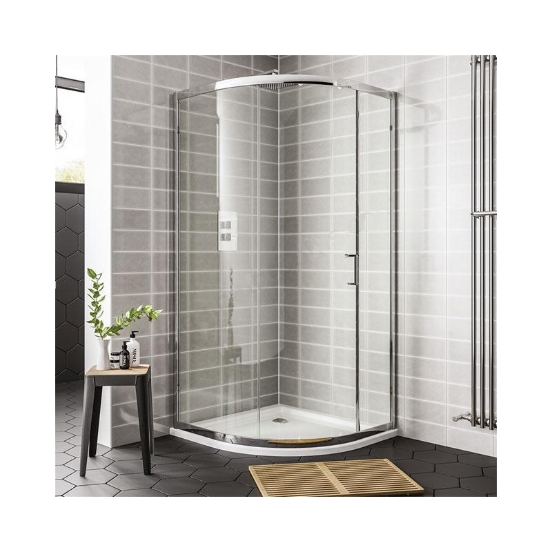 Essential Spring 900mm Quadrant Enclosure 1 Door