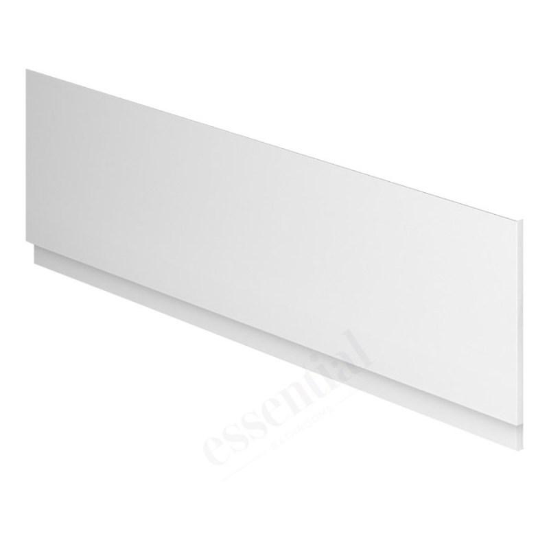 Essential Nevada MDF Front Bath Panel 1800mm White