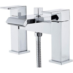 Essential Elsden Deck Mounted Bath Shower Mixer with Kit