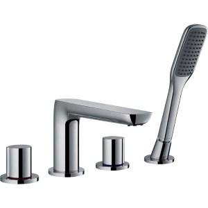 Flova Allore 4-Piece Bath Shower Mixer with Handset & Hose