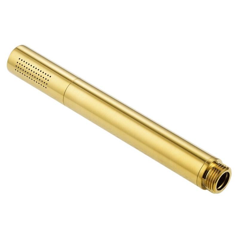 Flova Brass Pencil Handshower Brushed Brass