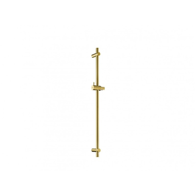 Flova Brushed Brass Round Slide Rail Only