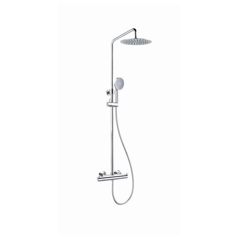 Flova Easyfit Levo Thermostatic Shower Column