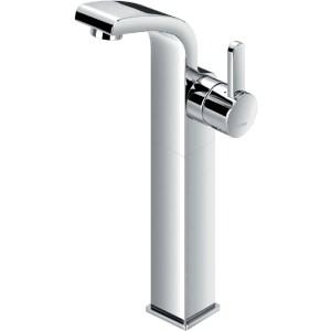 Flova Essence Tall Single Lever Basin Mixer with Clicker Waste
