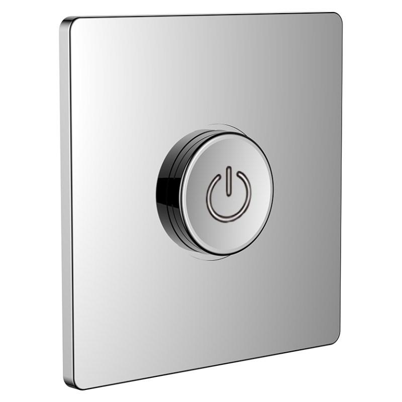 Flova GoClick Concealed On/Off Valve Square Plate