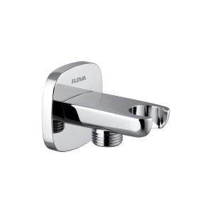 Flova Urban Shower Outlet Elbow with Handset Bracket