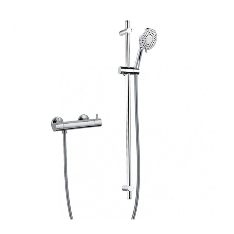 Flova Levo Bar Valve with Adjustable Shower Head