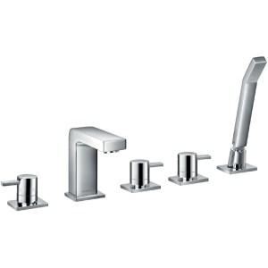 Flova Str8 5-Piece Bath Shower Mixer with Handset & Hose