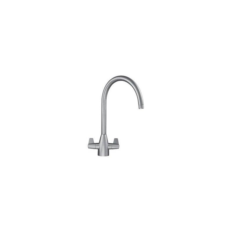 Franke Davos J Kitchen Sink Mixer SilkSteel