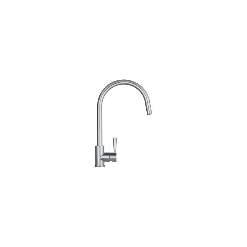 Franke Fuji Pull Out Nozzle Kitchen Sink Mixer SilkSteel