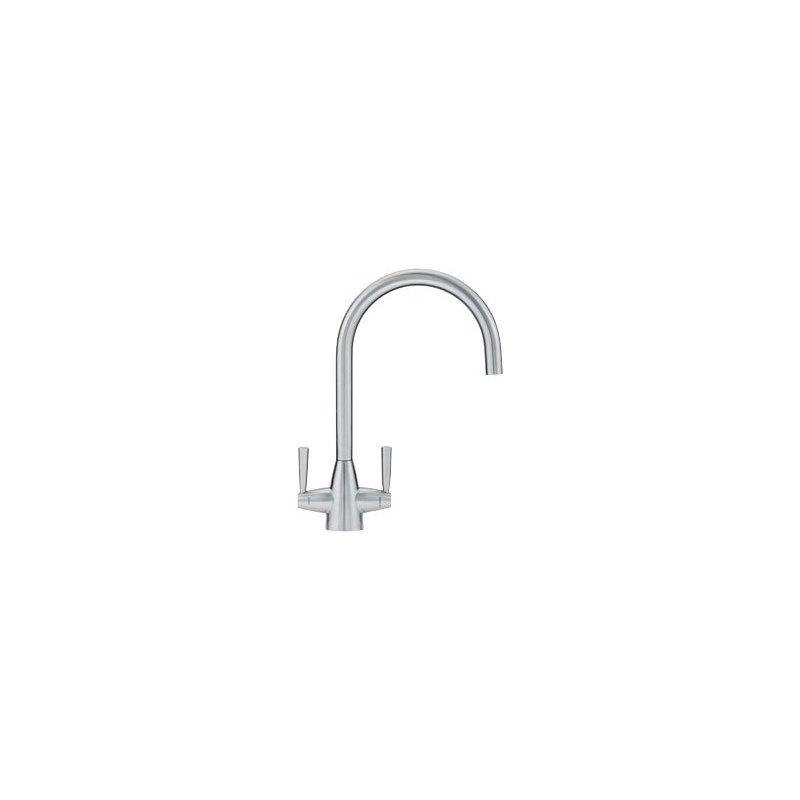 Franke Valais Kitchen Sink Mixer J Spout Steel