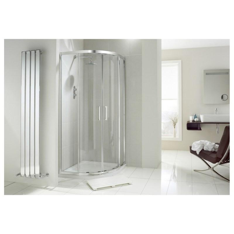 Aquaglass  Drift Offset Quadrant Shower Enclosure 900x760mm