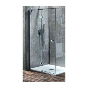 Aquaglass  Linear 1200mm Hinge Door Left