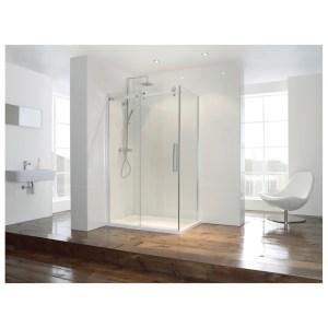Aquaglass  Frameless 1200mm Sliding Shower Door