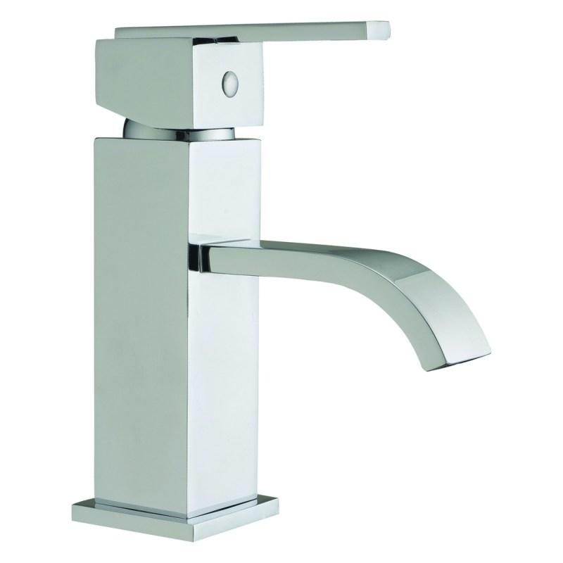 Aquaflow Blok Mono Basin Mixer with Click-Clack Waste