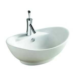Frontline Shell Countertop Basin (1 Tap Hole)