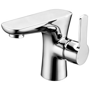 Aquaflow Garda Mono Basin Mixer with Click Clack Waste