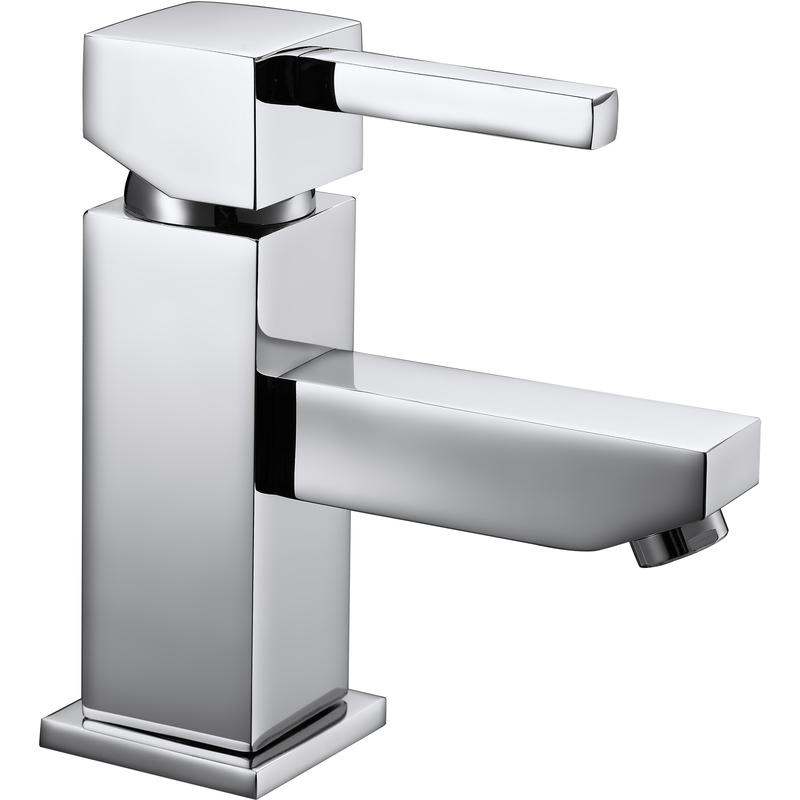 Aquaflow Ixos Mono Basin Mixer with Click Clack Waste