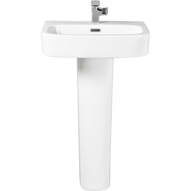 Aquaceramica Italia Modo 550mm Basin 1 Tap Hole