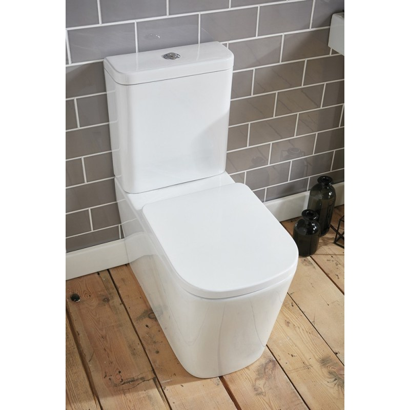 Frontline Modo Flush-To-Wall Toilet with Soft-Close Seat