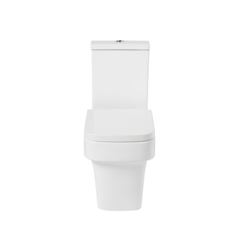 Frontline Medici Flush-To-Wall Toilet with Soft-Close Seat