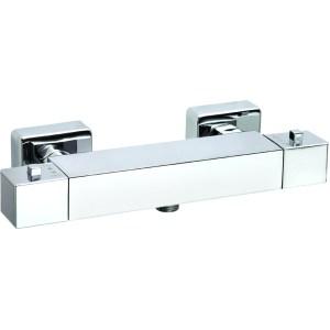 Aquaflow Italia Cubix Exposed Thermostatic Shower Valve