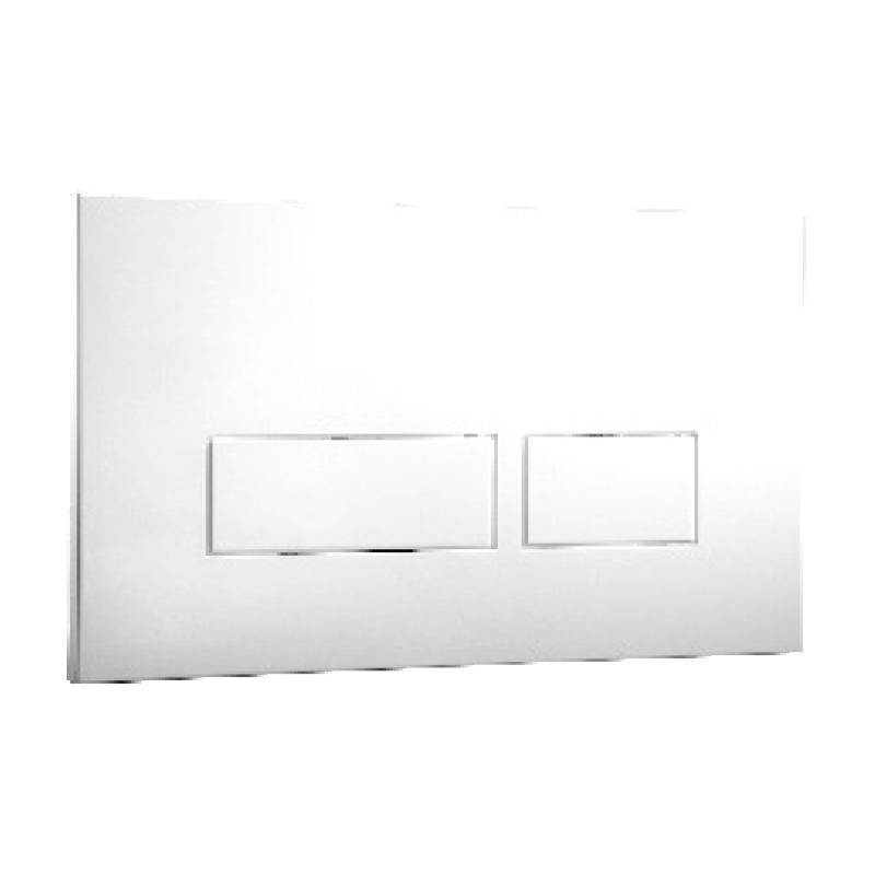 Frontline Trend Flush Plate White