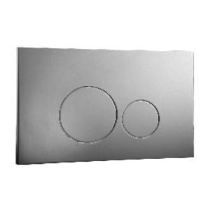 Frontline Iso Flush Plate Chrome