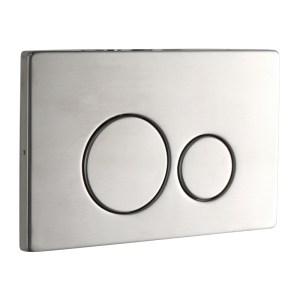 Frontline Iso Flush Plate Stainless Steel