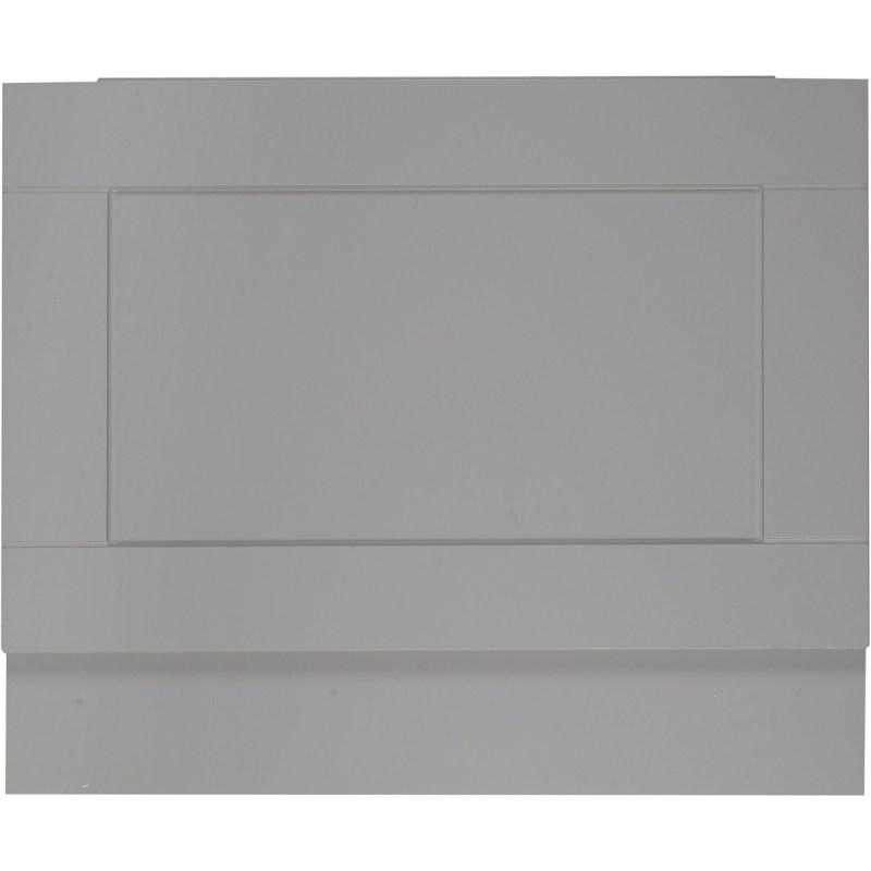 Holborn Dust Grey 700mm End Bath Panel