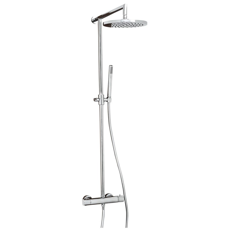 Aquaflow Sleek Shower Column Chrome
