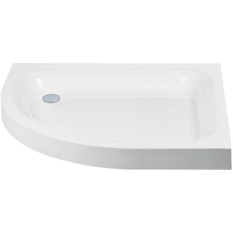 Aquaglass 1200x800mm Quadrant LH Shower Tray