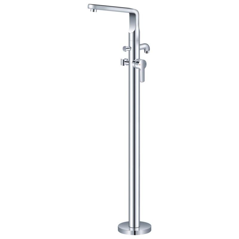 Aquaflow Luna Freestanding Bath Shower Mixer Tap