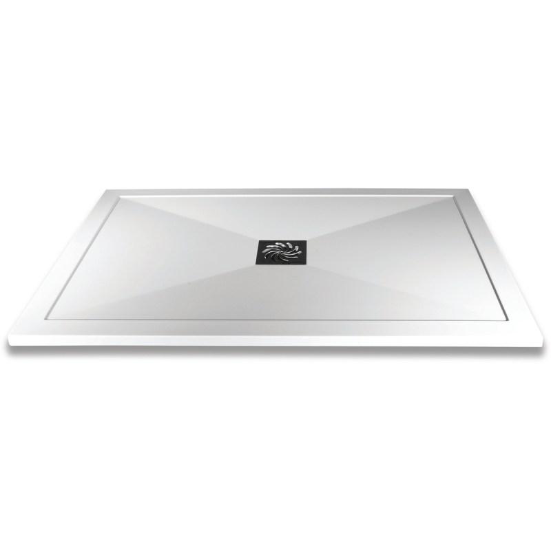 Aquaglass 1100x900mm Slimline Shower Tray