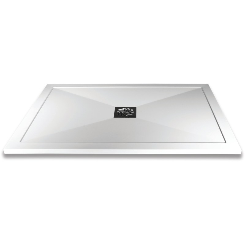 Aquaglass 1400x800mm Slimline Shower Tray
