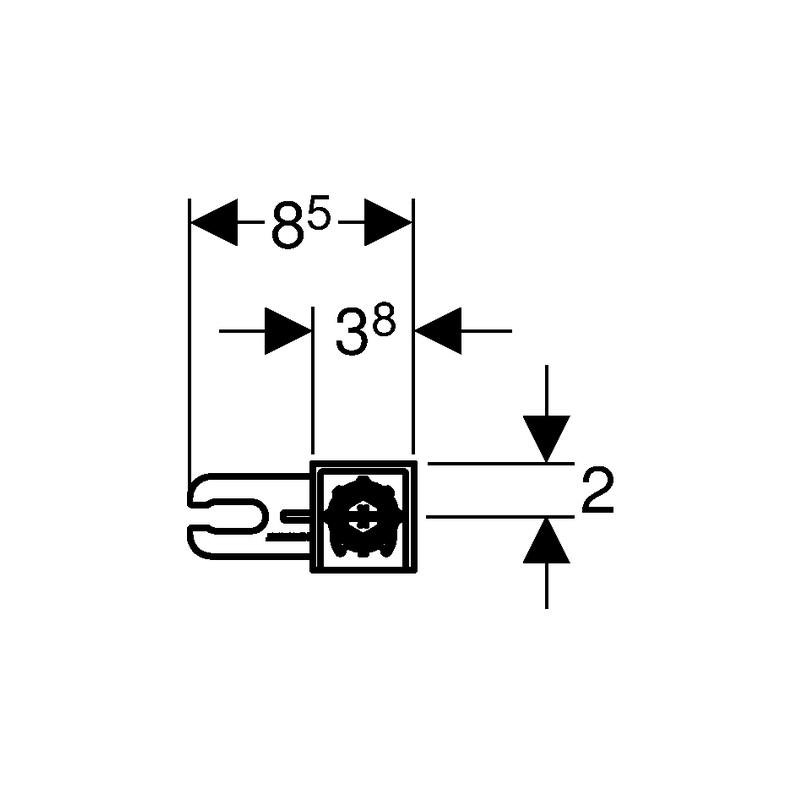 Geberit Duofix Wall Anchoring Kit