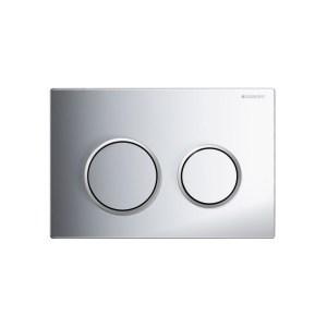Geberit Omega20 Flush Plate Gloss Chrome