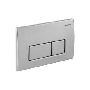 Geberit Flush Plate Kappa50 for Dual Flush Stainless Steel