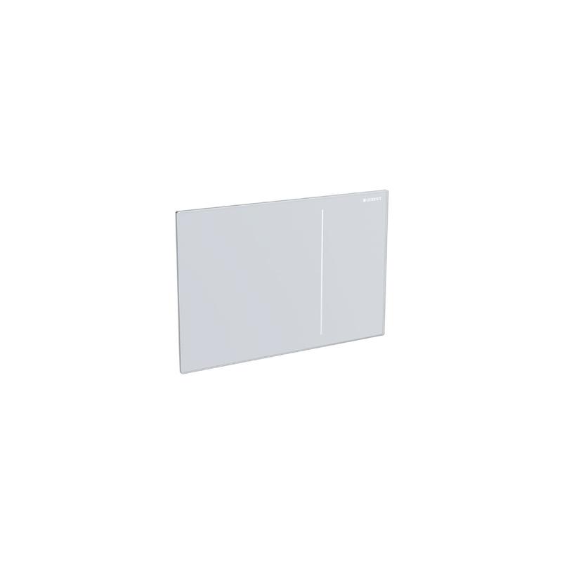 Geberit Sigma70 Flush Plate for Sigma 12cm White Glass