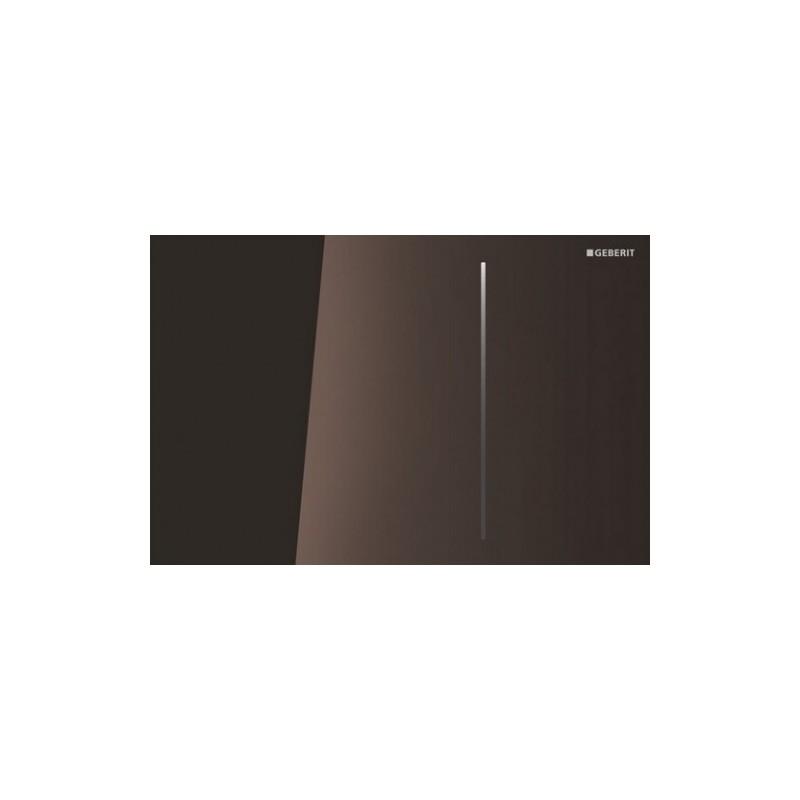 Geberit Sigma70 Flush Plate for Sigma 8cm Umber Glass