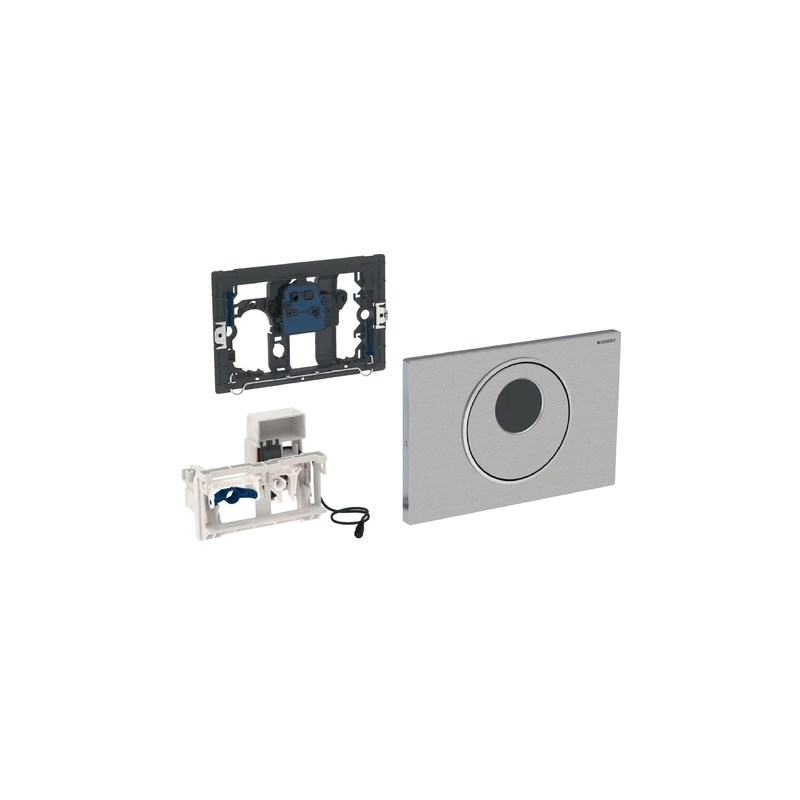 Geberit Sigma10 Flush Control Stainless Steel Mains
