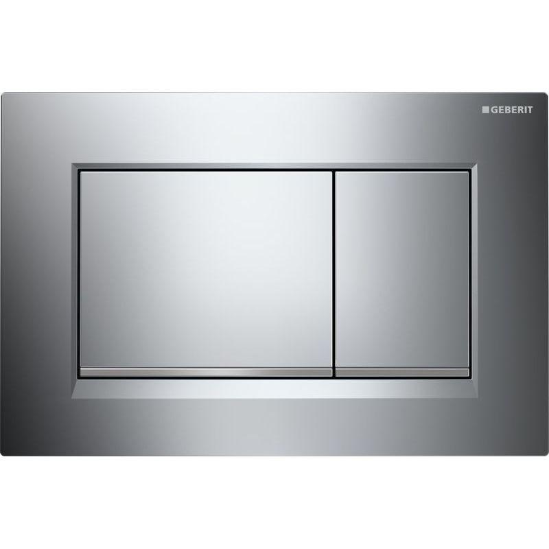 Geberit Sigma30 Dual Flush Plate Gloss/Matt/Gloss Chrome