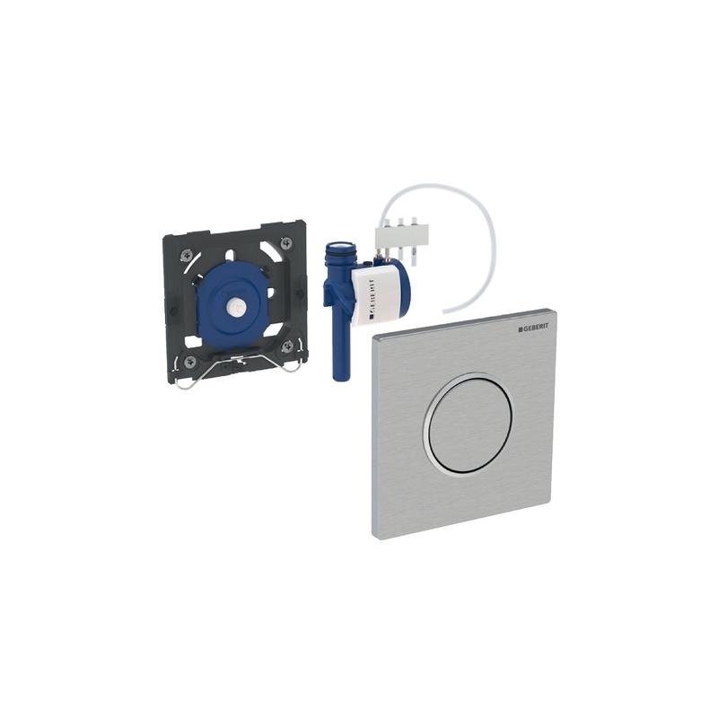 Geberit Urinal Flush Control Sigma10, Gloss/Matt Chrome