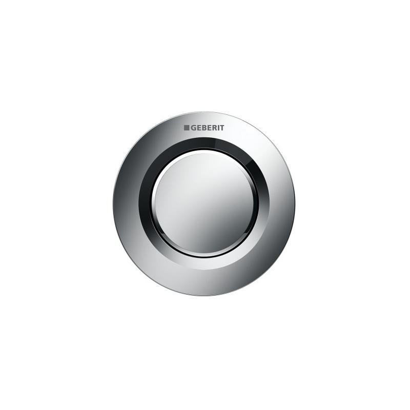 Geberit Single Flush Button Matt Chrome Type 01 for Cistern 8cm