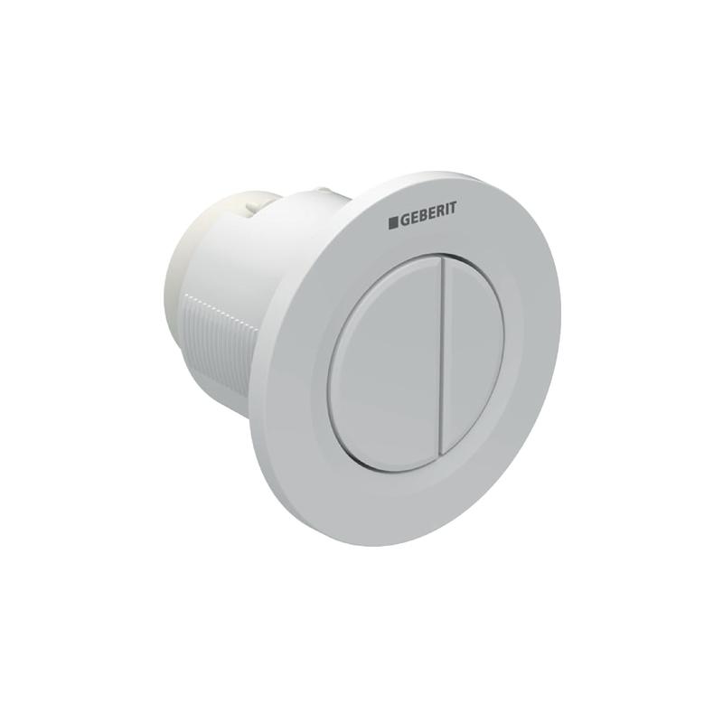 Geberit Dual Flush Button White Alpine Type 01 for Cistern 8cm