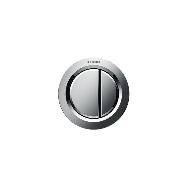 Geberit Dual Flush Button Matt Chrome Type 01