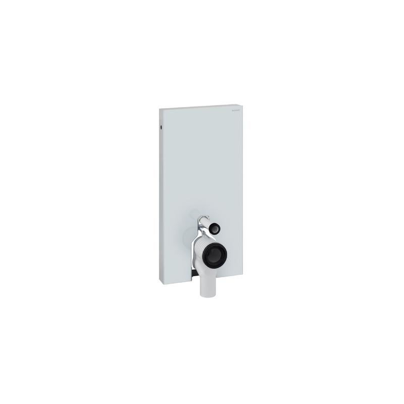Geberit Monolith Module for Floor Standing WC 101cm White Glass