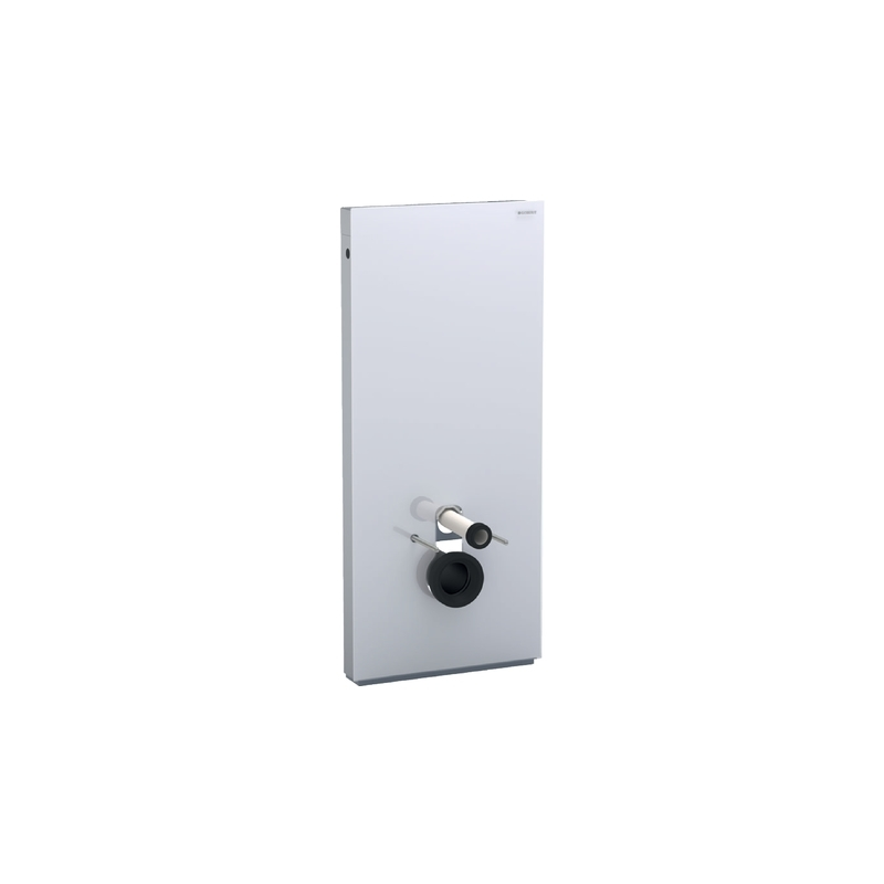 Geberit Monolith Module for Wall Hung WC 114cm White Glass