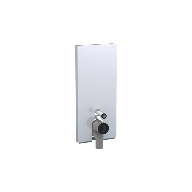Geberit Monolith Plus Floor Standing WC 114cm White Glass